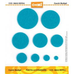 Fustella Cut-Mi Impronte D'autore Cerchi Multipli