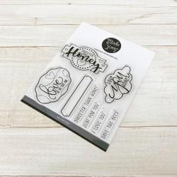 Clear Stamp Modascrap - HONEY