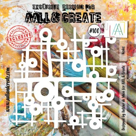 Stencil AALL and Create - 100