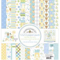 Paper Pack 12x12 Doodlebug Design - Special Delivery