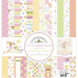 Paper Pack 12x12 Doodlebug Design - Bundle of Joy