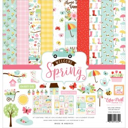 Echo Park Welcome Spring 12x12 Inch Collection Kit