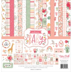 "Echo Park Welcome Baby Girl 12x12"" Collection Kit"