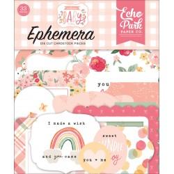 Echo Park Welcome Baby Girl Ephemera