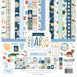 "Echo Park Welcome Baby Boy 12x12"" Collection Kit"