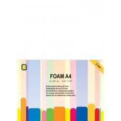 1 foglio biadesivo spessorato A4 2mm - JEJE Produkt 3D Foam A4 2mm