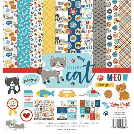 "Echo Park I love my dog 12x12"" Collection Kit"