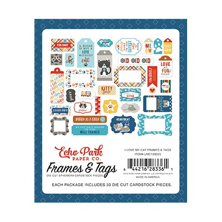 """Echo Park I love my cat 12x12"""" Collection Kit"""