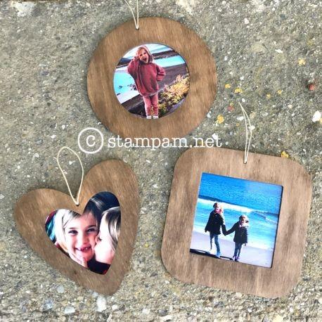 Set 3 Forme portafoto - Stampam