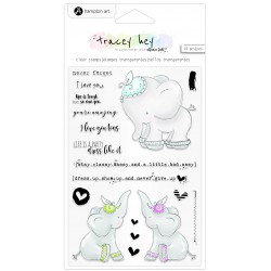 Timbri Hampton Art Never Forget Clear Stamps