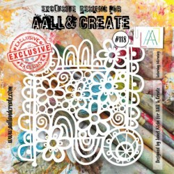 Stencil AALL and Create -118