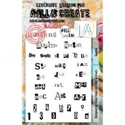 Timbri Aall & Create Stamp Set -455