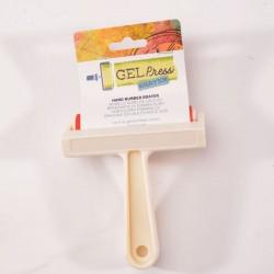 Gel Press • Hard Rubber Brayer 10.16cm White