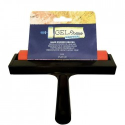 Gel Press • Hard Rubber Brayer 15.24cm
