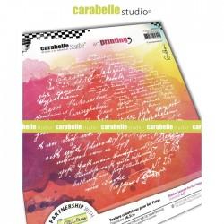 Timbro Carabelle Studio • Art Printing Rond Correspondances by Alexi