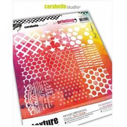 Timbro Carabelle Studio • Art Printing Carré 9 Square Textures