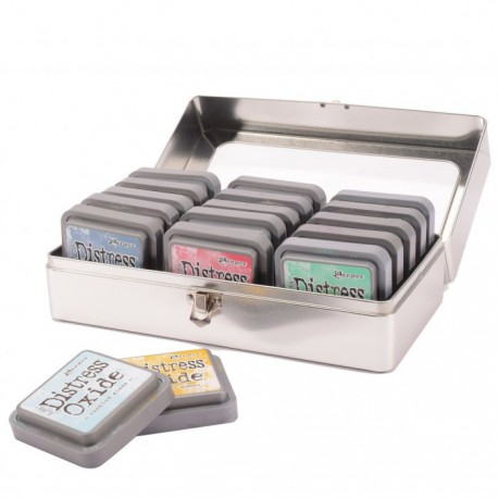 Ranger • Tim Holtz Distress ink pad Storage tin - Contenitore Latta per Ditsress ink/oxide