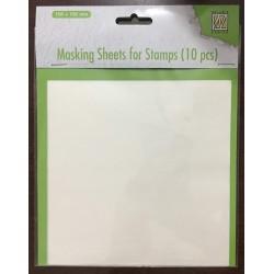 Masking Sheets for stamps - Fogli per Masking per Timbri