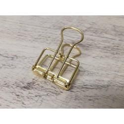 Clip in metallo Oro