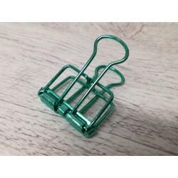 Clip in metallo Verde Acqua
