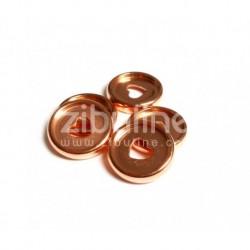 Dischi per rilegatura 24mm - Cuore Oro Rosa
