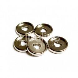 Dischi per rilegatura 24mm - Cuore Argento