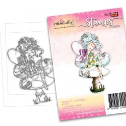 Timbro Polkadoodles - Serenity Blossom