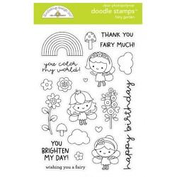 Timbro Doodlebug Design - Fairy Garden Doodle Stamps