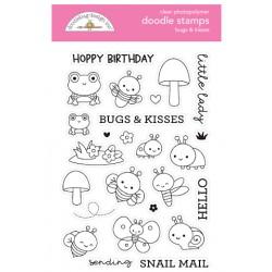 Timbro Doodlebug Design - Bugs & Kisses Doodle Stamps