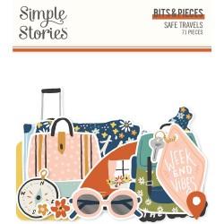 Simple Stories - Safe Travels Bits & Pieces
