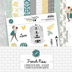 Collection French Kiss - Mes Ptits Ciseaux