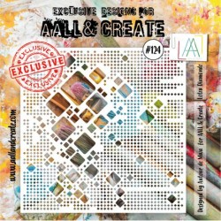 Stencil AALL and Create - 124