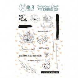 Timbri Clear Stamps HA-PI Little Fox - Plaisirs simples