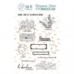 Timbri Clear Stamps HA-PI Little Fox -Histoire du jour