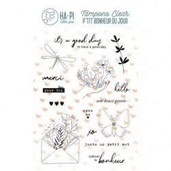 Timbri Clear Stamps HA-PI Little Fox - Un petit mot