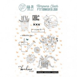 Timbri Clear Stamps HA-PI Little Fox - Beautiful day