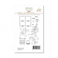 Timbri Clear Stamps PaperNova Design - Greenhouse-2