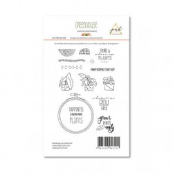 Timbri Clear Stamps PaperNova Design - Greenhouse-4