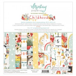 "Paper pack Mintay Childhood 30x30 cm (12""x12"")"