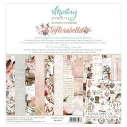 "Paper pack Mintay Florabella 30x30 cm (12""x12"")"