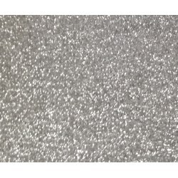 Vinile termoadesivo Argento glitter 30x30cm