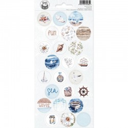 P13 PIATEK STICKER SHEET BEYOND THE SEA 03 10,5 X 23CM
