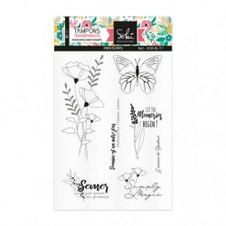 Timbri Clear Stamps Sokai - SO'BLOOM 'Printemps'