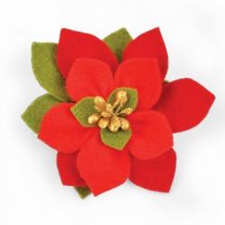 Sizzix Bigz Die - Build a Bloom, Poinsettia