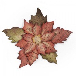 Sizzix Bigz Die - Tattered Poinsettia