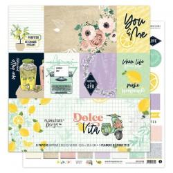 Kit Carte Florileges Design DOLCE VITA