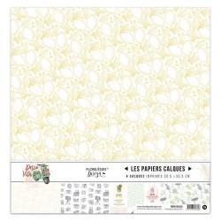Kit Calques Florileges Design DOLCE VITA (vellum)