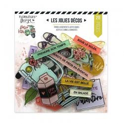 Décos Acryliques Florileges Design DOLCE VITA