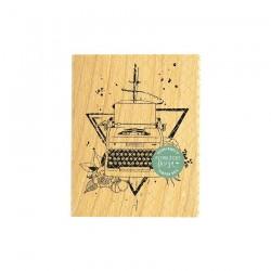 Timbro di legno Florileges Design - IL ÉTAIT UNE FOIS