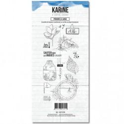 Timbri Clear Stamps Les Atelier de Karine - A contre courant Prendre le large